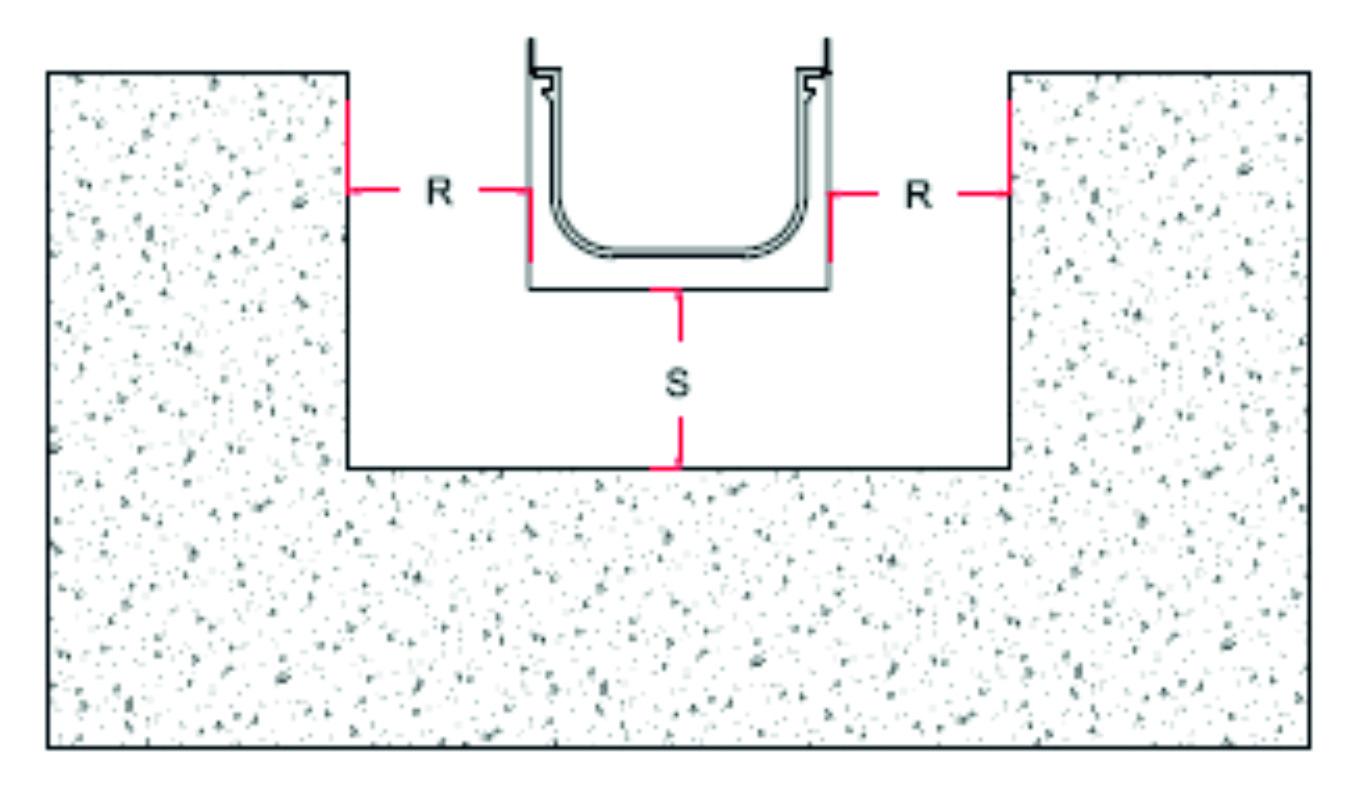 отводнителен улей препоръчителен монтаж