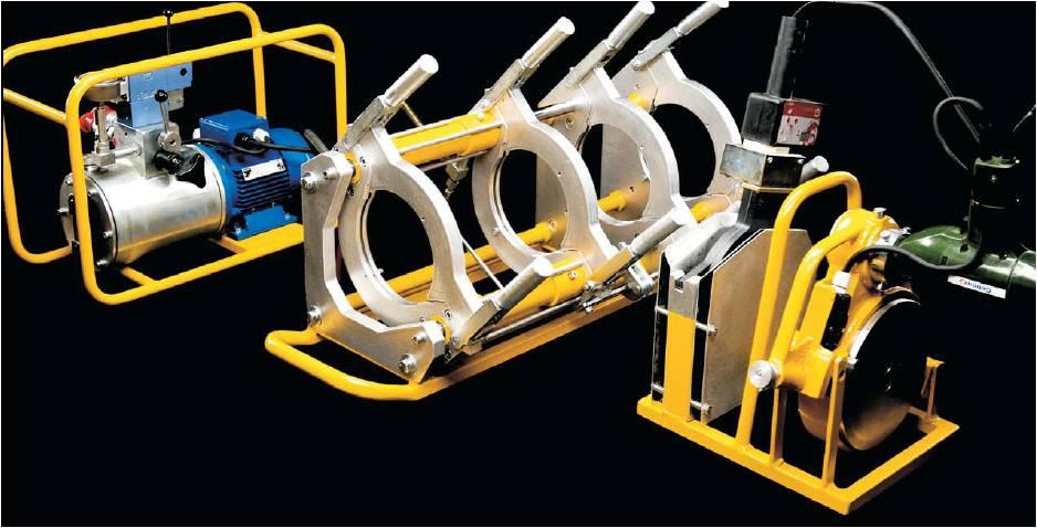 машина за челно заваряване на полиетиленови тръби